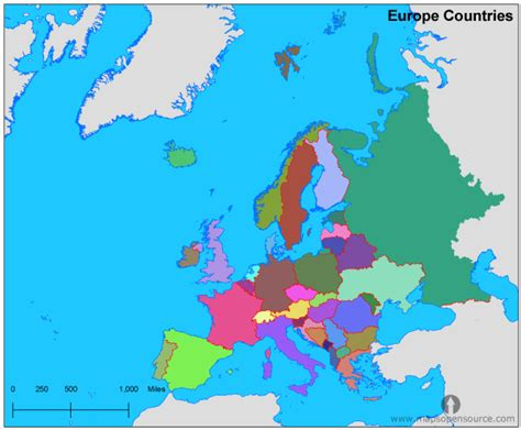 map of europe and surrounding countries free europe countries map countries map of europe