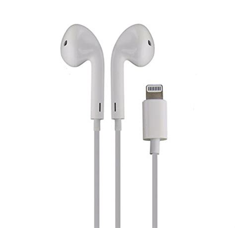 Earphone Apple Iphone 7 7 Lighning Connector Genuine In Ear oem apple iphone 7 earpod wired headphones with lightning import it all