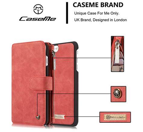 Kece Caseme Iphone 66s Wallet Pouch Card Leather Berkualitas caseme iphone 7 plus detachable 2 in 1 multifunctional wallet