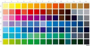 colors chart jerome soliz a pantone color chart