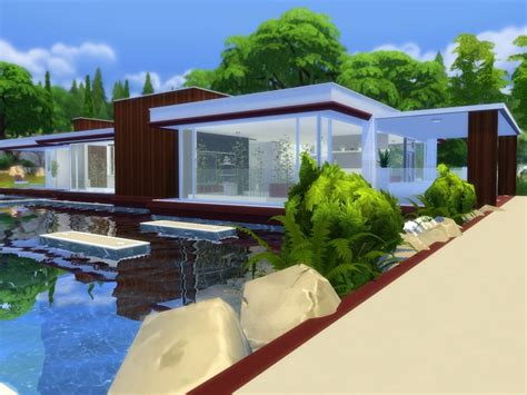 modern pool house suzz86 s modern pool house