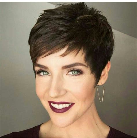 pixie cut with long wispy back and sides 271 best short edgy haircuts images on pinterest short