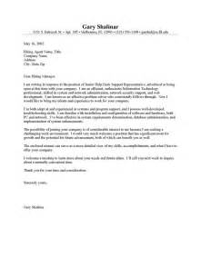 It Cover Letter – Sample IT Cover Letter