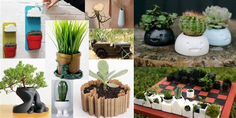 cool planters weekly roundup ten 3d printable things cool and unique