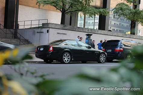 maserati quattroporte spotted in manhattan new york on 11