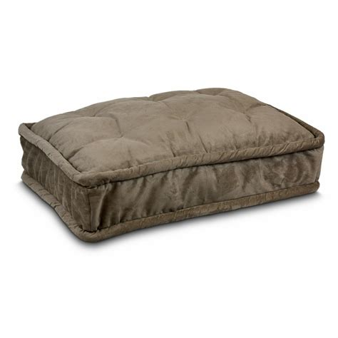 pillow top dog bed replacement cover pillow top dog bed 29 dog beds carriers