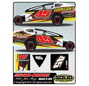 Race Car For Dirt Modified Graphic Designs Tuning