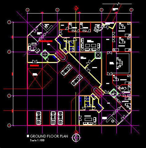 office layout plan dwg cad building template 3100sqm office floor layout 5