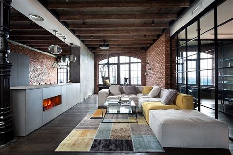 Apartments Lofts High End Bachelor Pad Design Stunning Loft In Kiev By