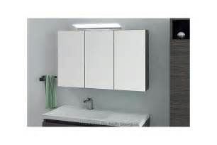 indogate armoire salle de bain miroir