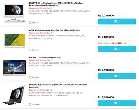 Merk Hp Vivo Berasal Dari Mana ini dia daftar harga komputer all in one i3 acer