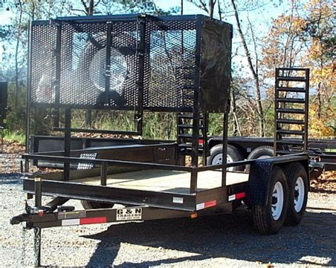 landscape trailer with accessories landscape trailer with