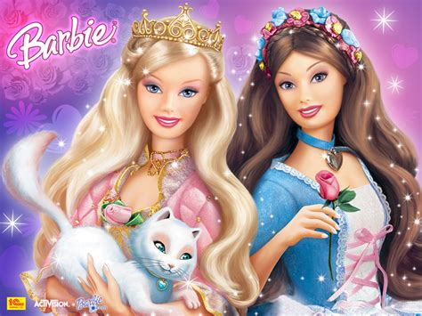 Anneliese And Erika Barbie Princess And The Pauper As The Princess And The Pauper