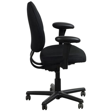 Steelcase Criterion Chair by Steelcase Criterion Plus Used Big Task Chair Black
