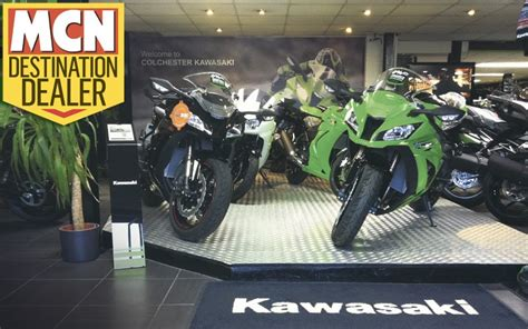 Motorcycle Dealers East London by Destination Dealer Colchester Kawasaki Mcn