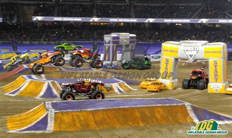 monster truck jam san diego monster jam arches at petco park san diego 2016