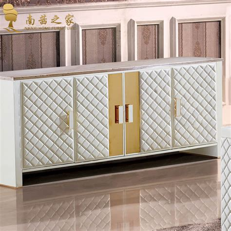 Italian Design Home Furniture Living Room Cabinet Marble Dining Room Storage Cabinets