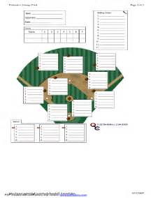 defensive lineup card fill online printable fillable