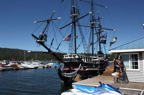 How Much To Ship A by Big S Iconic Pirate Ship Sinks Victor Valley News