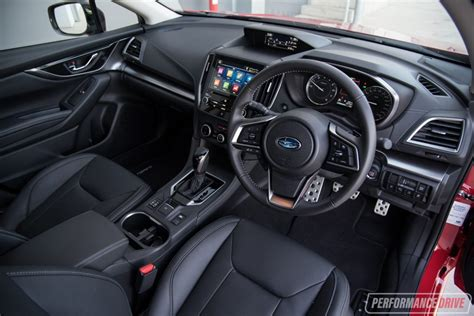 subaru impreza interior 2017 2017 subaru impreza review video performancedrive