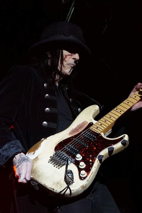 Mick Mats by Mick Mars Photograph By C