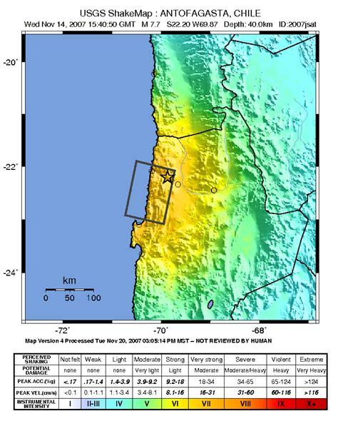 earthquake zone 2 2007 tocopilla earthquake wikipedia
