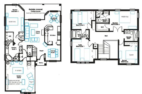 plan a room villa plan