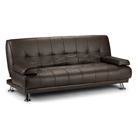 sofa beds leather uk faux leather sofa beds next day delivery faux leather