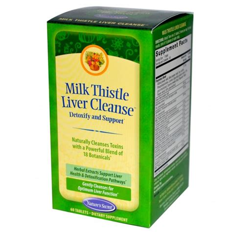 Liver Detox Skin by Skin Supplements Milk Thistle Liver Cleanse To Combat