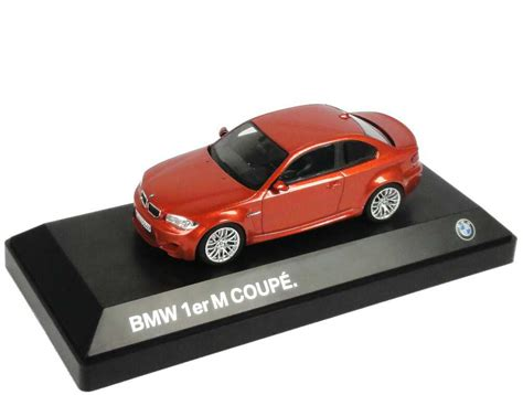 Bmw 1er Coupe Datenblatt by 1 43 Bmw 1er M Coup 233 E82 Valencia Orange Met