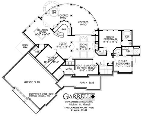 Lakeview House Plans by Tranquility House Plan Garrell House Plans Lakeview