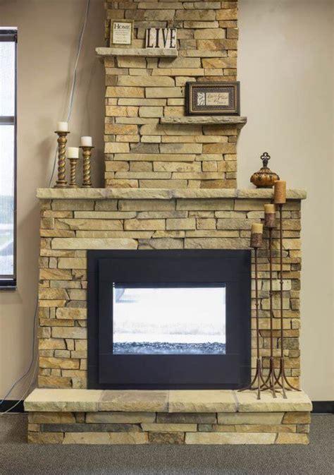 Twilight Modern Fireplace by Manufactured Veneer Kansas City Thin Cut