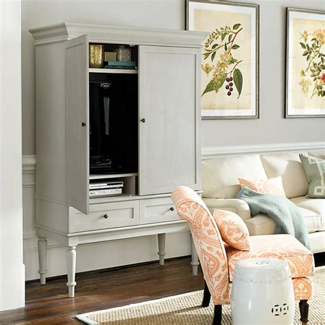 armoire tv stands marais media armoire traditional entertainment centers and tv stands by ballard