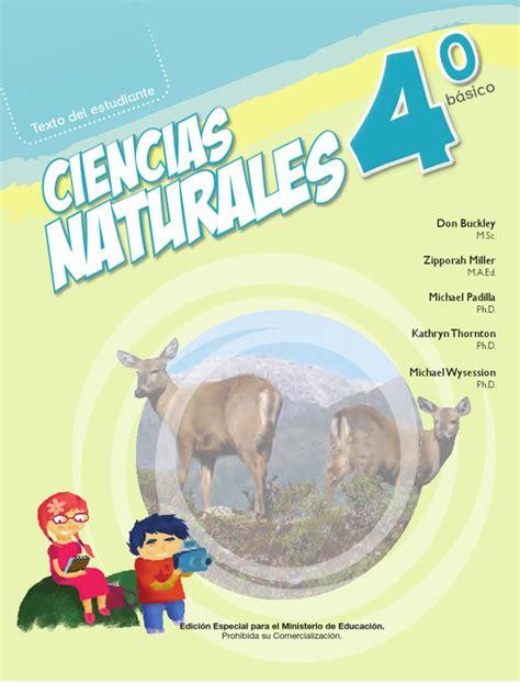 libro de ciencias naturales de 4 del 2016 libro de ciencias naturales 4 a 209 o basico 2013