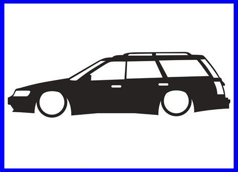 subaru legacy decals 1x low subaru legacy gt touring wagon bc bj bf series