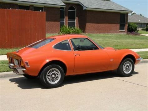 Opel Car 1970 by Nicest We Ve Seen Clean 1970 Opel Gt Bring A Trailer