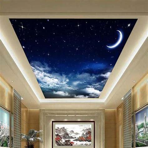 Online Get Cheap Ceiling Wall Paper Aliexpress Com Sky Ceiling Wallpaper