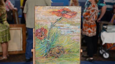 tiffany studios mosaic panel ca  antiques roadshow pbs