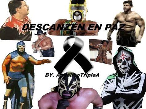 imagenes de halloween luchador luchadores fallecidos 1990 2015 youtube