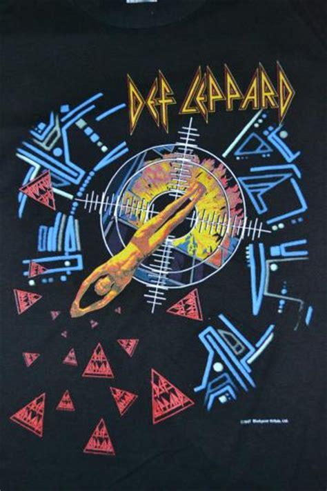 vintage def leppard hysteria tour 1987 t shirt