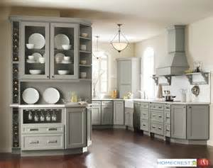 Kitchens With Cherry Cabinets And Wood Floors - grey cabinets continue to dominate this year