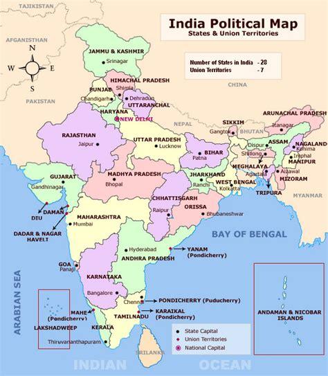 india states map maps of india bizbilla