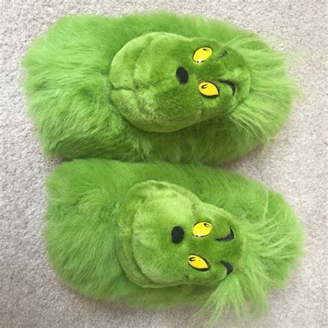 where to buy grinch slippers 64 seuss wear shoes the grinch slippers just in