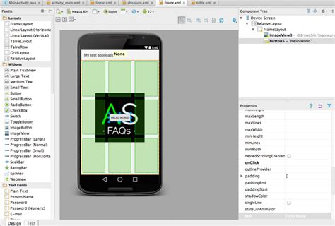 android studio layout id qu 233 tipos de layouts existen en android studio