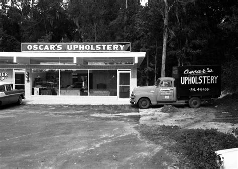 Upholstery Tallahassee by Florida Memory Oscar S Upholstery At 1014 S Magnolia Dr