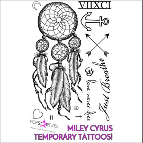 miley cyrus tattoos amp meanings a complete tat guide