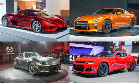 cars ny 2016 new york auto show performance sports cars 187 autonxt
