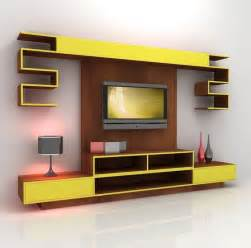 Tv Stand Wall Designs by 7 Cool Contemporary Tv Wall Unit Designs For Your Living Room