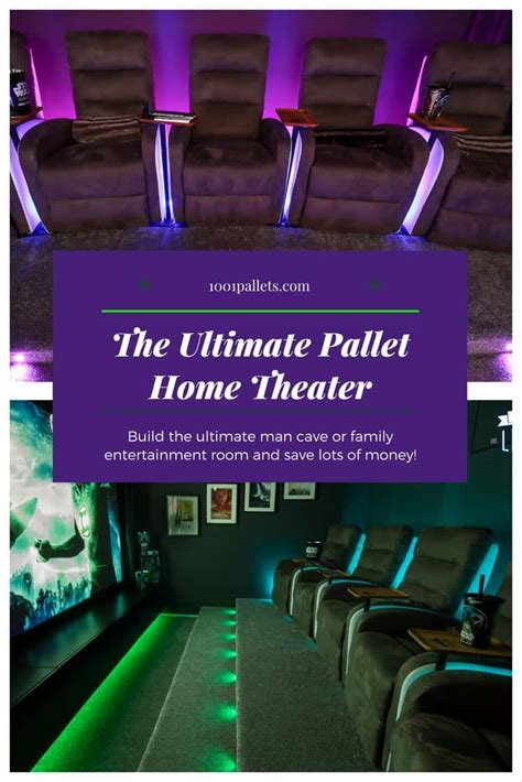 build   pallet home theater  pallets