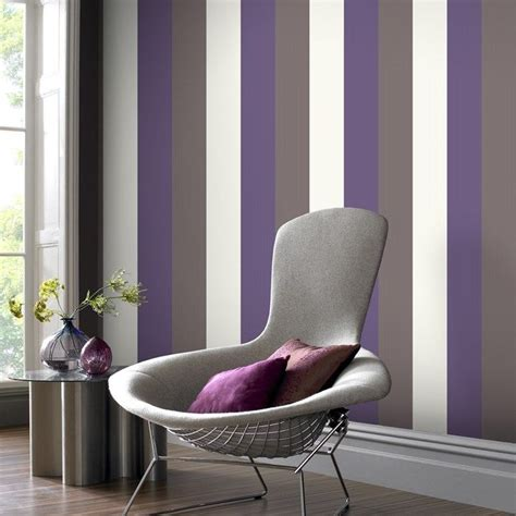wallpapers for bedrooms walls purple and cream bedroom 25 best ideas about purple striped walls on pinterest